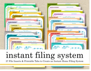Get Your Paper in Order for 2019 With Our Instant File System