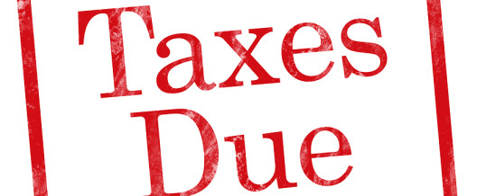 Reminder – Estimated Taxes Due Jan 15