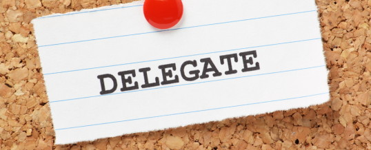 Organizer Mom: The Cost-Benefit of Delegation