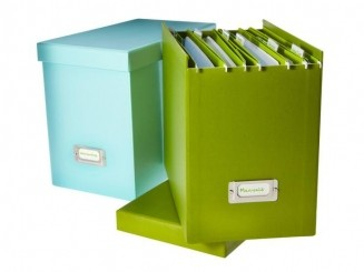 organizer mom updating your paper filing system livable solutions livable solutions - Decorative File Boxes