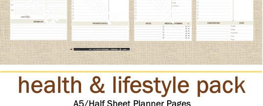 Organizing Tip of the Day:  Checklist Your Way to Better Health