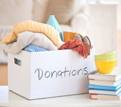 Organizing Tip of the Day:  Where to Donate Suits