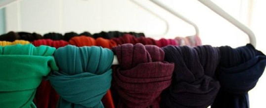 Organizing Tip of the Day:  Organize your Scarves with a Regular Hanger