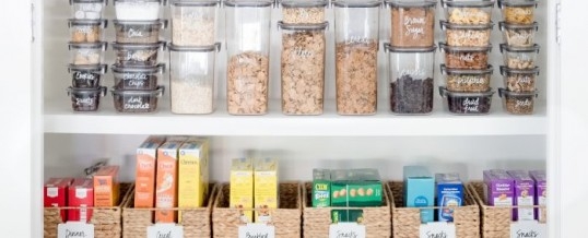 Organized Pantry or Organized Failure?