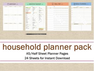 Create Household Planner To Organize Your Family Now