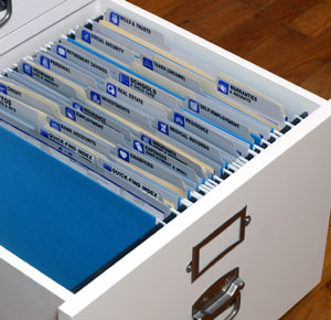 This Files System Can Be Purchased at www.theorganizedlifestylestore.com