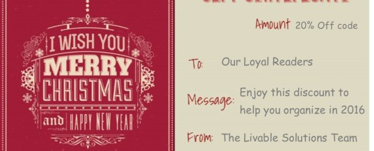 Merry Christmas from Livable Solutions!