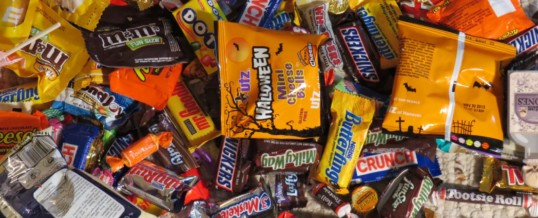 How to Use up Extra Halloween Candy