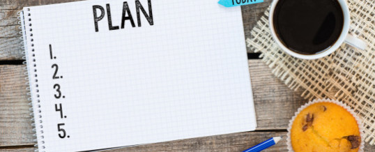 Make an Organizing Plan for 2017