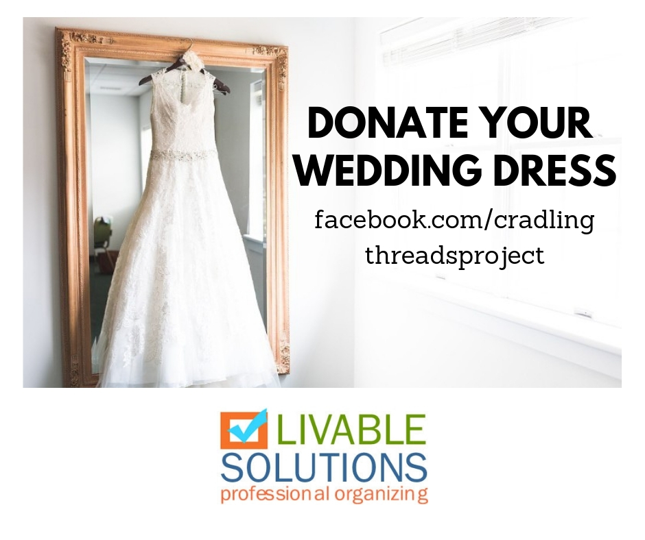 Donate Wedding Dress.Day Eight 40 Bags In 40 Days Decluttering Challenge