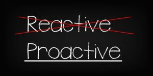 Day Twenty:  40 Bags in 40 Days Decluttering Challenge - Are you Proactive or Reactive?