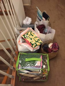 Day Thirty - 40 Bags in 40 Days Decluttering Challenge - The Guest Room Closet