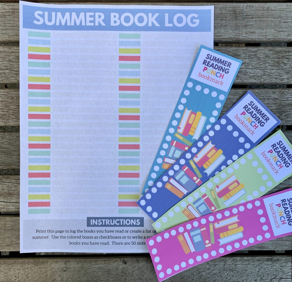 Summer Reading Log for Kids - Life's Lists Summer Activity Pack