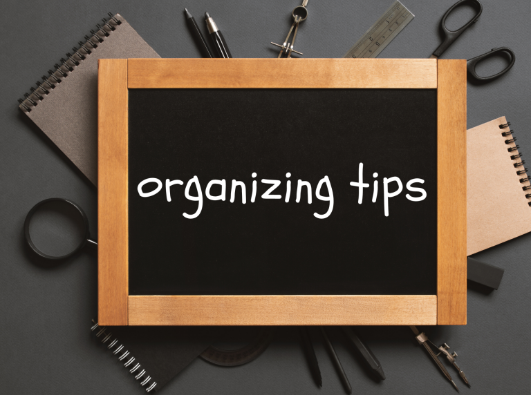 Organizing Tips Picture